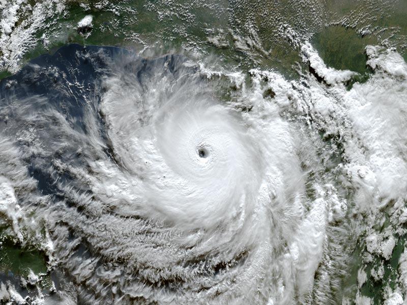 Satellite Image of Tropical Storm Laura